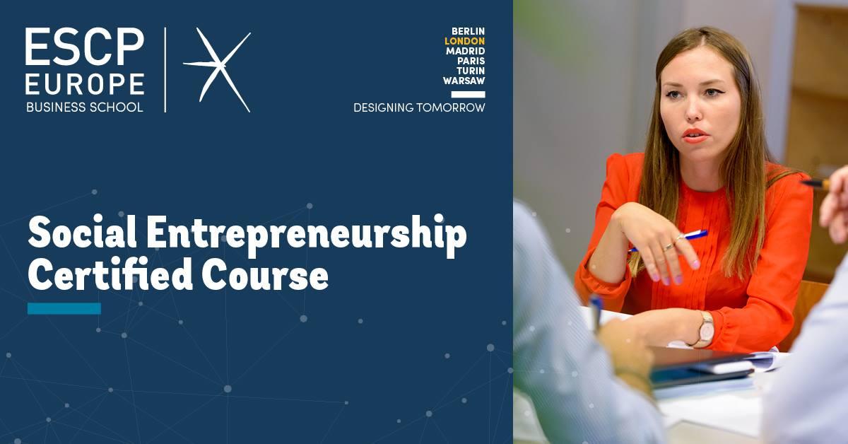 ESCP i-genius Social Entrepreneur Course in London