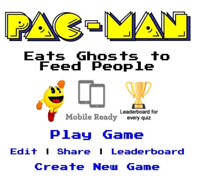 Pac Man vs Hunger