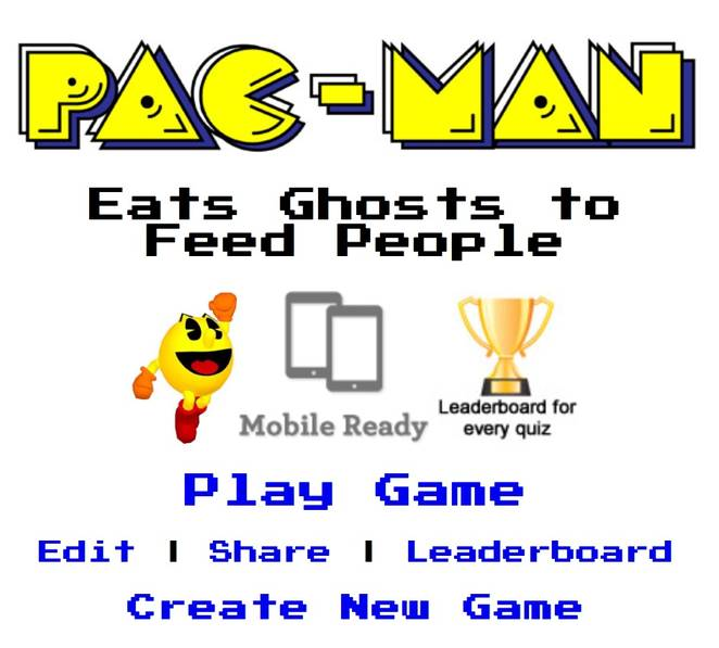 Pac Man vs Hunger
