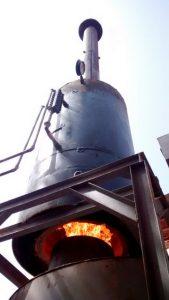 Gasifier flame & boiler (2)