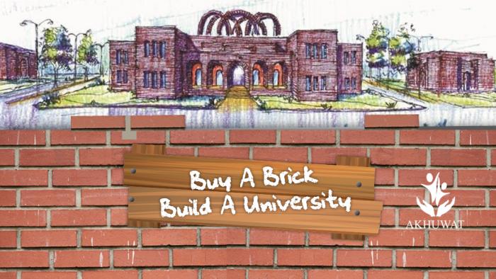 Buy-a-Brick, Build-a-University Crowdfunding Campaign   i