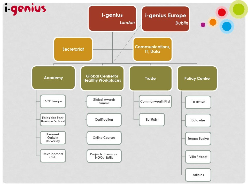 i-genius business structure