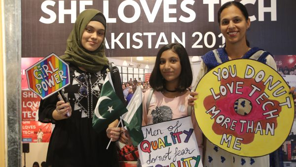 she loves tech pakistan