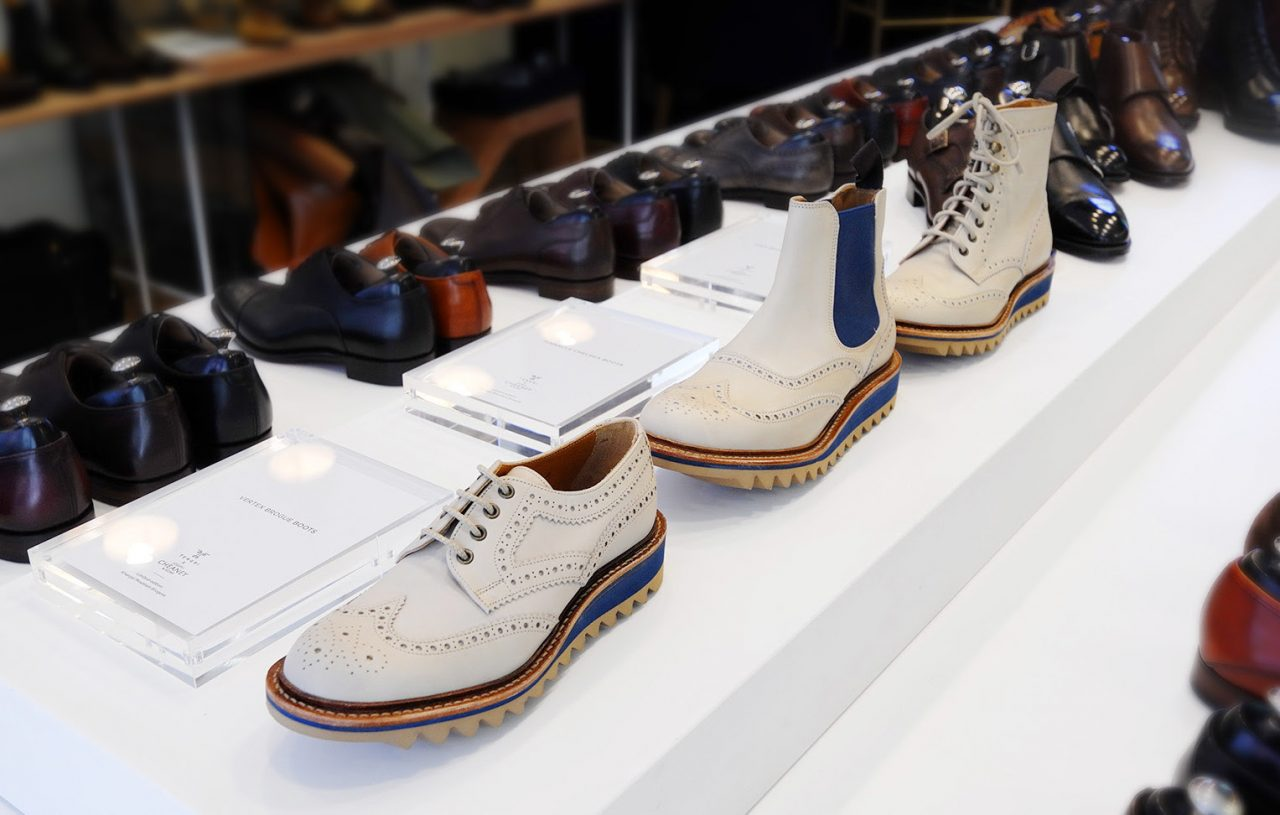 Tengri x Cheaney Sustainable Khanghai Mountain Brogue Shoes